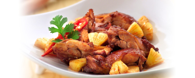 Fried Chicken in Spicy Tamarind Sauce