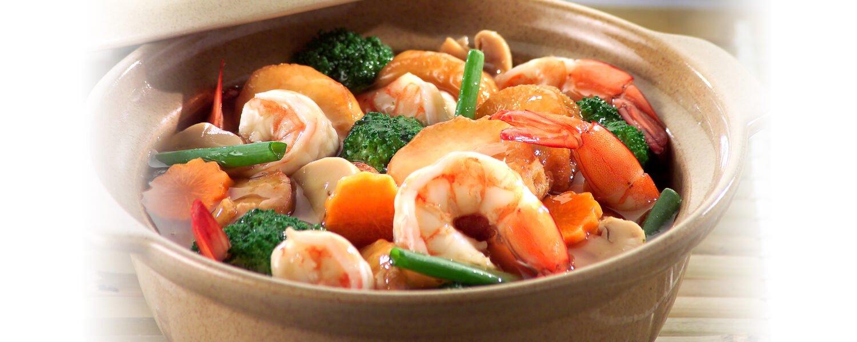 Clay Pot Seafood Tofu