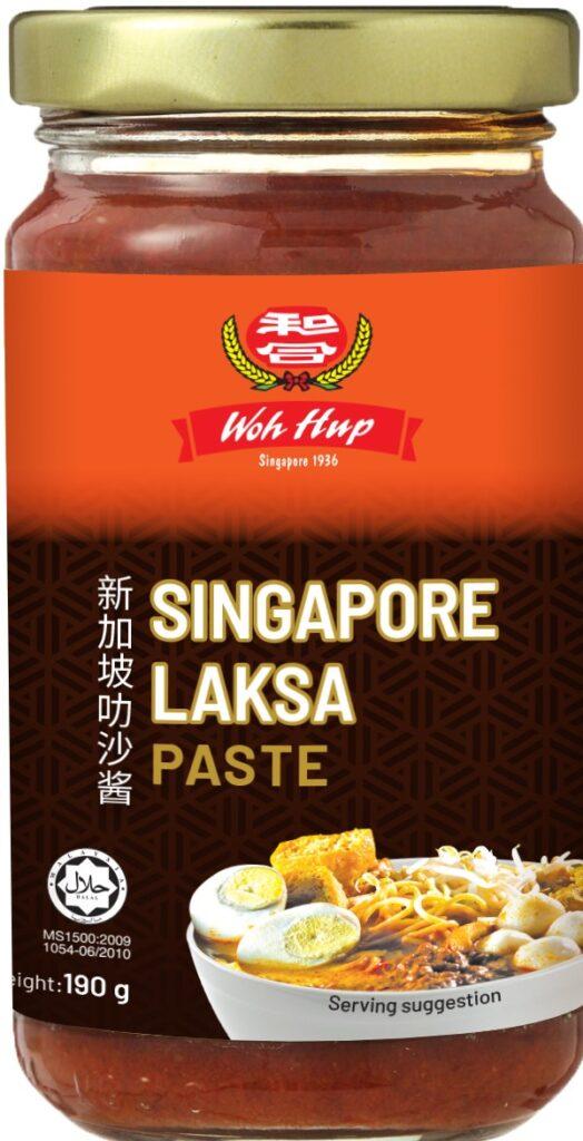 Laksa Seafood Spaghetti pack image