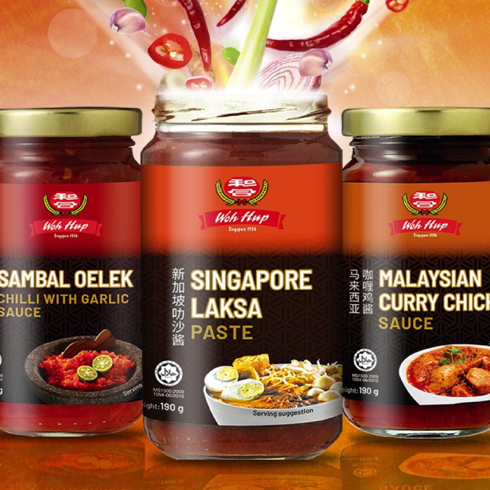 Singapore Laksa Paste pack image