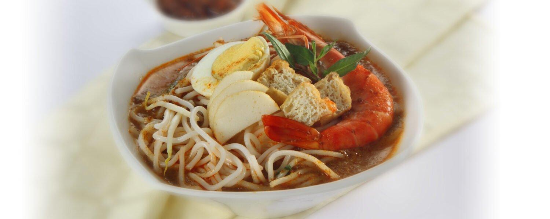 Singapore Curry Noodle (Laksa)